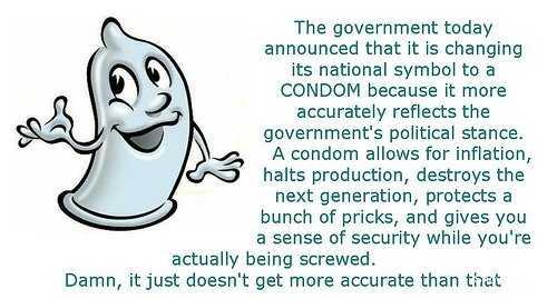 condom saying