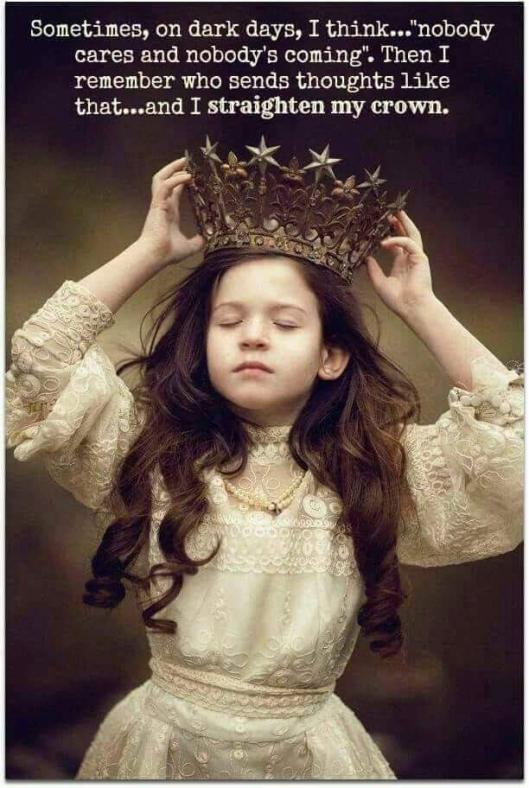 Crown straightened
